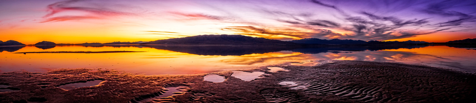 Ray_David-Utah Lake Sunset Pano