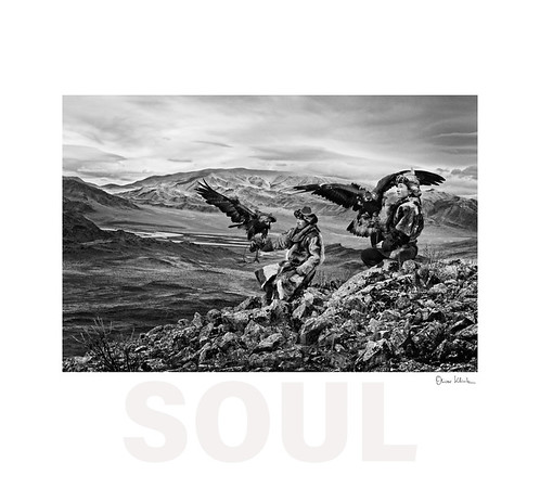 Siezbek and his Brother - Eagle Hunters