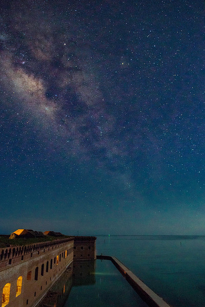 Jim_Roach-Milky_Way_at_Fort_Jefferson