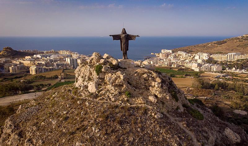 James_Dalrymple-Jesus_on_Tal-Merzuq Hill_Gozo