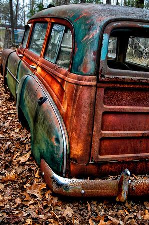 """Ancient History"" - 1952 Chevrolet Wagon - Catalog #0011"