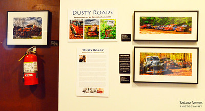 """Dusty Roads"" at the North Carolina Transportation Museum in Spencer, North Carolina Exhibit on display from January 4 through July 4, 2013."