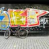Bicycle and graffiti