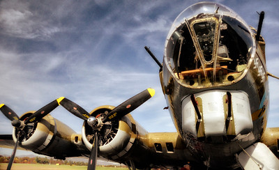 "Catalog #5001 - ""Flying High"" - Boeing B17G Flying Fortress"