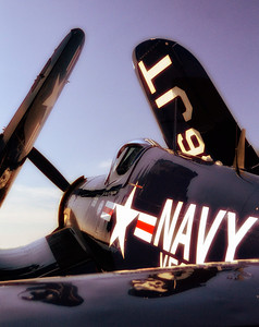 """Navy Blue"" 1945 Chance Vought F4U-4 Corsair"