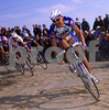 Gianluca Bortolami in the 1999 Paris-Roubaix