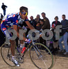 Franco Ballerini on his way to victory in the 1995 Paris-Roubaix