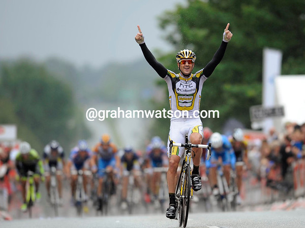 HAYDEN ROULSTON WINS STAGE SIX OF THE TOUR ODF DENMARK