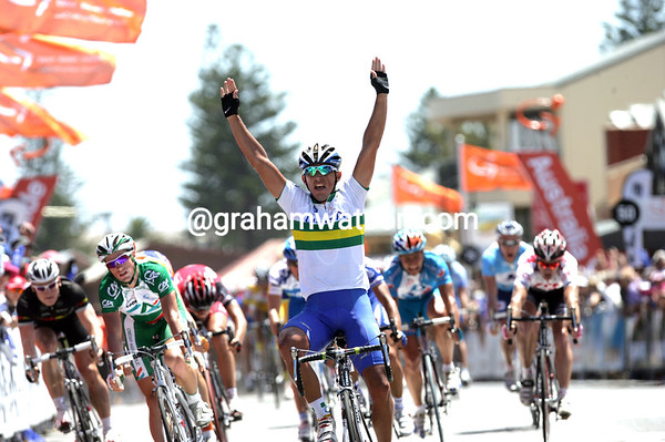 ALLAN DAVIS WINS STAGE THREE OF THE 2008 TOUR DOWN UNDER