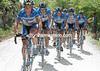 MATTHEW WHITE LEADS THE DISCOVERY TRAIN IN THE 2006 GIRO D'ITALIA