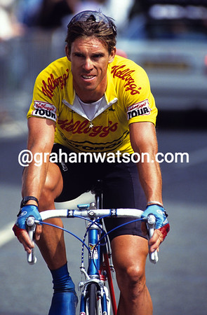PHIL ANDERSON IN THE 1990 KELLOGG'S TOUR OF BRITAIN