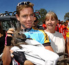 CADEL EVANS IN THE 2003 TOUR DOWN UNDER