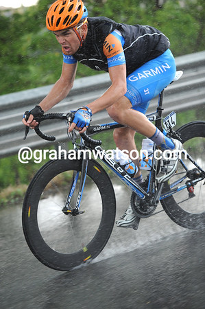 JACK BOBRIDGE ON STAGE NINE OF THE 2010 GIRO D'ITALIA