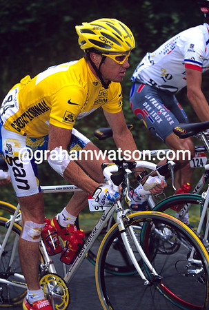 STUART O'GRADY IN THE 1998 TOUR DE FRANCE