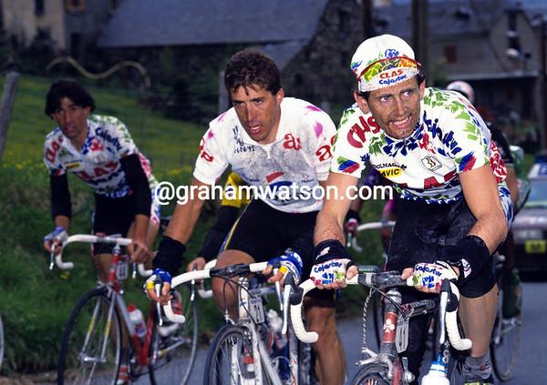 Tony Rominger in the 1992 Vuelta a Espana
