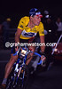Lance Armstrong in the 1999 Tour de France, at Sestriere