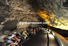 THE TOUR DE FRANCE IN THE GROTTO DE AZIL ON STAGE FIFTEEN