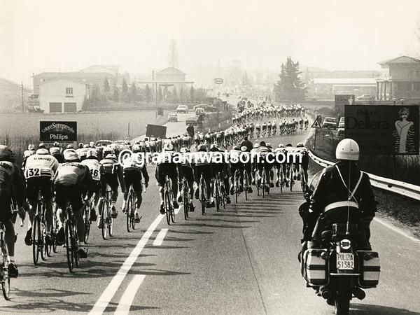 THE MILAN SAN REMO PELOTON IN 1983