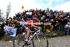FABIAN CANCELLARA IN THE 2010 TOUR OF FLANDERS