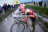 ANDRE TCHMIL IN THE 2001 PARIS-ROUBAIX