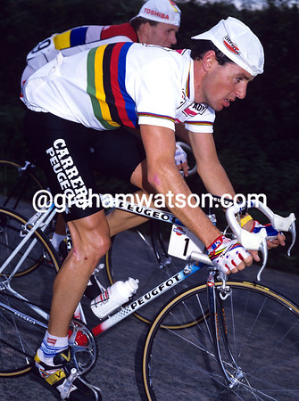 STEPHEN ROCHE IN THE 1987 TOUR OF IRELAND