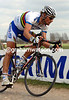 TOM BOONEN IN ACTION IN PARIS-ROUBAIX
