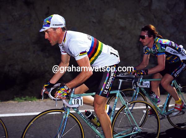 Luc Leblanc in the 1995 Dauphiné-Libéré