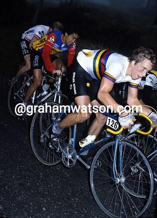 Greg LeMond in the 1983 Giro di Lombardia