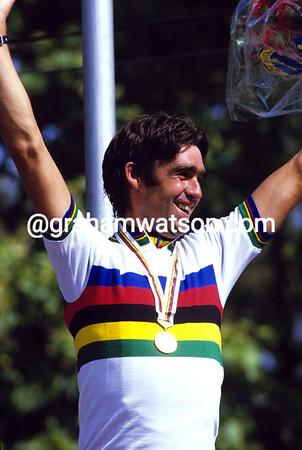 Claude Criqueilion wins the 1984 World Championships