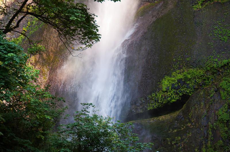 Multnomah Falls, Last Light - Oregon, 2011