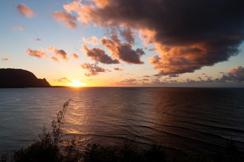 Kauai Sunset - Kauai, Hawaii, 2010