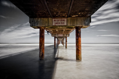 No loitering under the pier