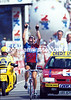 """This One's For You"" - Lance Armstrong wins a stage in 1995 and dedicates it to Fabio Casartelli who died a few days earlier in a crash."