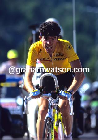 Bold Breton - Ronan Pensec time trials to Villard-de-Lans in the 1990 Tour de France
