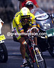 Fast Man - Greg Lemond time trials to overall victory in the 1989 Tour<br /> <br /> TREASURED IMAGE