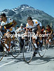Mountain High - Phil Anderson struggles over the Col du Glandon in 1982.