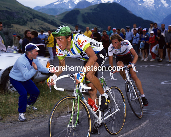 Seeking Glory - Fabio Parra and Gert-Jan Theunisse on Alpe d'Huez in 1990