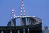 A Bridge Too Far - The 1996 Tour peloton races across the Pont de Saint-Nazaire