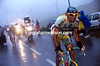 On the Attack - Marco Pantani takes a flier on the Col du Galibier to wrest control of the 1998 Tour from Jan Ullrich