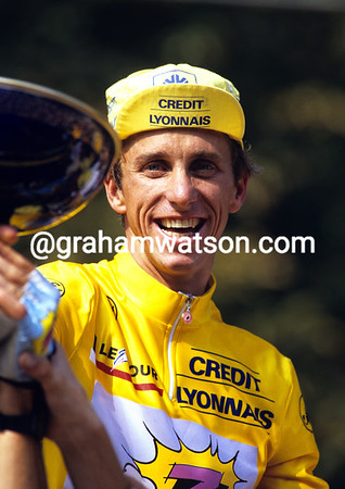 Hat Trick - Tour win No.3 for Greg Lemond in 1990.