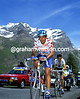 On a Roll - Claudio Chiappucci leads Richard Virenque on the Col d'Iseran at the start of a long, long escape to Sestriere in 1992