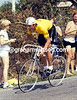 Young Aggressor - Phil Anderson wears Yellow for a time trial stage of the 1981 Tour de France.<br /> <br /> TREASURED IMAGE