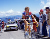 Sheffield's Star - Malcolm Elliott climbs the Mont Ventoux in the 1987 Tour.