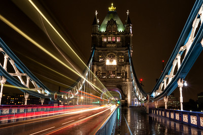 Nightlife on the Tower Bridge