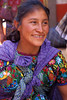 Guatemalan woman in market.