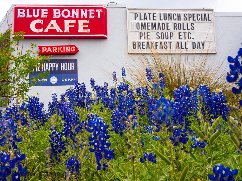 Bluebonnet Cafe - Marble Falls, TX