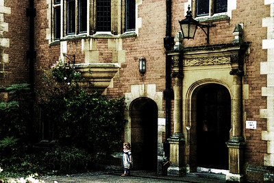 Brent Howcroft_ Little Girl, Little Door - Graduation Day - Cambridge University