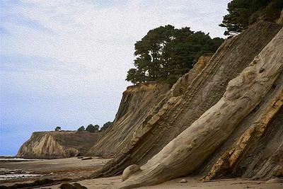 bowling ball cliffs