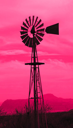 Cathie_Delewski-windmill against the texas sky
