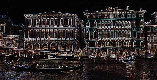 Cathie_Delewski-venice by night